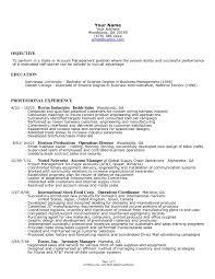 Manufacturing Resume Sample 100 Sample Resume Of Manufacturing Director 100