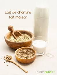 cuisine saine fr lait de chanvre fait maison lait de chanvre recette sans lait