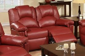 Red Leather Reclining Chair Red Leather Reclining Loveseat Steal A Sofa Furniture Outlet Los