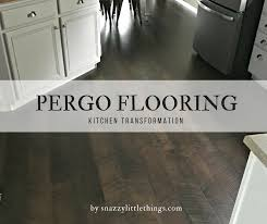 Kitchen Laminate Flooring Pergo Flooring Kitchen Reveal