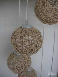 Wicker Pendant Light 6 Light Rattan Woven Stair Pendant Light Living Room
