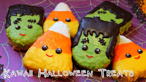 Cheap Halloween Appetizers by Kawaii Halloween Treats Youtube