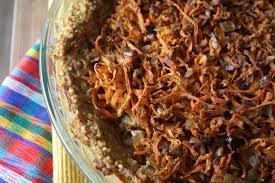 cuisiner le millet tarte aux carottes et millet l armoire du haut