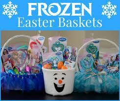 diy easter basket frozen easter baskets almost supermom