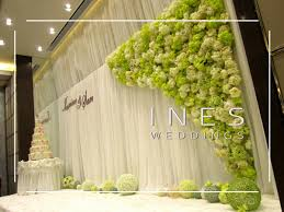 wedding backdrop design wedding decoration at the one joyous one 迎 ines weddings event