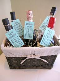 bridal shower wine basket 10 creative diy wedding and shower gifts liquor chagne and