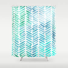 herringbone shower curtains society6 in proportions 1080 x 1080