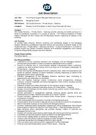 Travel Assistant Job Description Jd Pa U0026 Project Support Manager Facility Services Private Sect U2026