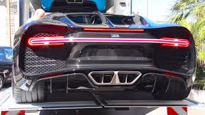 future bugatti 2030 bugatti chiron cold start up and sound delivery in monaco youtube