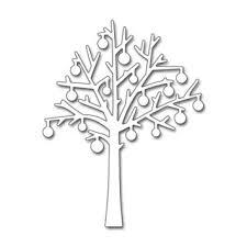 black ornament tree