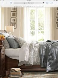 my bedding pottery barn love wall color is sherwin