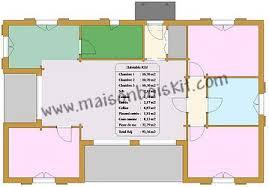 plan maison 100m2 3 chambres plans et prix au m2 de maisons bois et chalets bois