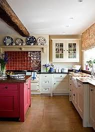 Red Kitchens With White Cabinets Best 25 Red Tiles Ideas On Pinterest Red Floor Turquoise Tile
