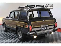 1989 jeep wagoneer 1989 jeep wagoneer for sale classiccars com cc 1008562
