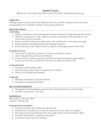 sample employment resume nice sample of customer service cashier resume with relevant nice sample of customer service cashier resume with relevant skills for employment
