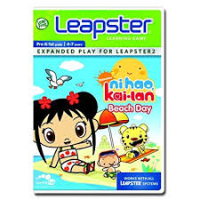 amazon leapfrog leapster learning game ni hao kai lan toys