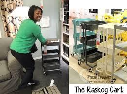 raskog cart ideas ikea field trip for craft room storage ideas patty s sting spot
