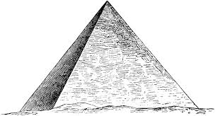 pyramid clipart many interesting cliparts