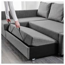 canapé lit angle ikea friheten convertible d angle avec rangement skiftebo gris foncé ikea