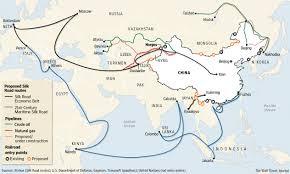 Mongolia On World Map China Mongolia Russia Economic Corridor Obor Silk Road Cpec