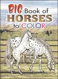 big book horses coloring book 026912 details rainbow