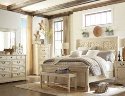 Zayley Bookcase Bedroom Set Bolanburg White Panel Bedroom Set From Ashley Coleman Furniture