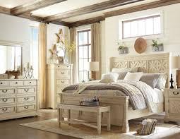 Larimer Upholstered Bedroom Set Bolanburg White Panel Bedroom Set From Ashley Coleman Furniture