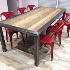 cuisine bois et metal table de cuisine bois cheap images with table de cuisine bois best