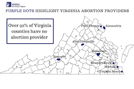 virginia county map with cities current laws naral pro choice virginia