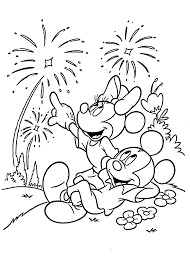 disney new year coloring pages free 5862 cartoons celebrations