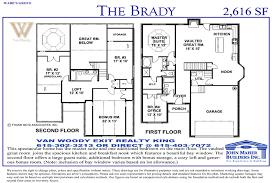 builders floor plans the brady plan in wades grove