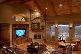 Oak Corner Fireplace by Living Room Modern Design Idea Two Sided Corner Fireplace Living