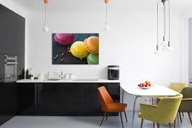 tableau decoration cuisine tableau déco macarons izoa