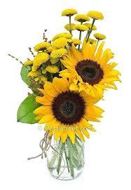 sunflower arrangements sunflower arrangements eatatjacknjills