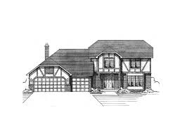English Style House Plans by Elmbridge English Tudor Home Plan 091d 0077 House Plans And More