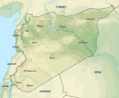 Syria Turkey Map by Turkey Closes Off Euphrates River Flow To Syria Tishrin