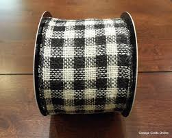 black and white wired ribbon 116 best cottage crafts christmas and winter ribbons
