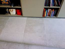 Cleaning Grout Lines Cleaning Burnishing And Sealing A Limestone Floor In St John U0027s