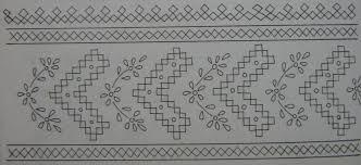 saree border designs ahil art