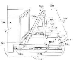 Kitchen Cabinet Kick Plate Patent Us20120086317 Toe Kick Step Stool Google Patents