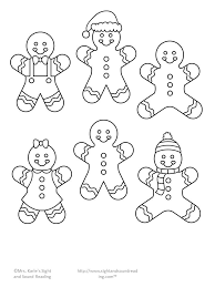 gingerbread clipart cut out pencil and in color gingerbread