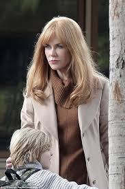 does mj from shas wear a wig nicole kidman sparks speculation she is wearing a wig whilst filming