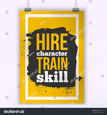 hire character train skill quote wall stock vector 440514604 hire character train skill quote for wall art prints mock up home interior