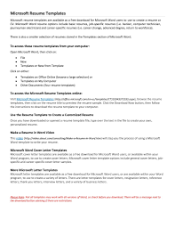 Resume Samples In Word 2007 How To Find Resume Template On Microsoft Word 2007 Free Resume