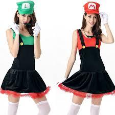 Halloween Costumes Luigi Compare Prices Womens Luigi Costume Shopping Buy