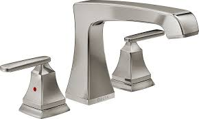 delta faucet t2764 ss ashlyn roman tub trim stainless amazon com