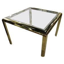 dia brass dining game table vintage regency design