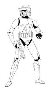the arf trooper project 1 lineart by zaegandun on deviantart