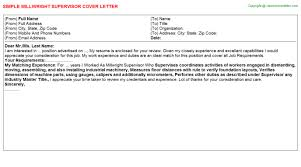 Millwright Resume Sample by Millwright Apprentice Cover Letters