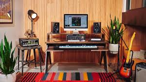 studio keyboard desk finally a desk made for electronic music producers like you